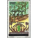 2002 - parcel Mi 28 type 1 - local overprint 60 f - corn - MNH