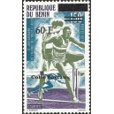 2002 - parcel Mi 33 type 2 - local overprint 60 f - West African Games - Athletics: hurdles - MNH
