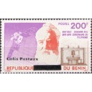 2002 - parcel Mi 35 type 2 - local overprint - Telephone and satellite - Graham Bell - MNH