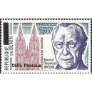2002 - parcel Mi 37 type 1 - local overprint - Konrad Adenauer - Cologne Cathedral - MNH