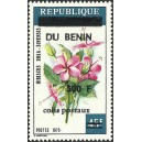 "2002 - parcel - local overprint 500 f - Flower ""hibiscus rosa-sinensis"" - MNH"