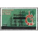 2002 - parcel - local overprint 5 f - Benin electric community - MNH