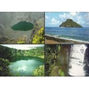 2011 - Landscapes of the Comoros - 4 stationneries: postcards MNH