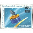 1993 - Mi 1093 - local overprint 150 f - Halley's comet and space probe - RR - MNH