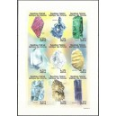 1999 - Mi 1374 to 1382 - Minerals - UNPERFORATED - MNH