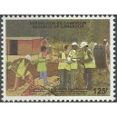 2011 - Cooperation with China: installation of the optical fiber 125 f - MNH