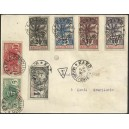 """1906 - Mauritania: 2 covers with postage due stamps """"T"""" - CV 3565 €"""