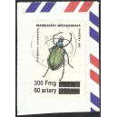 1998 - Mi 2100 - local overprint 300 F - Insect - cancelled