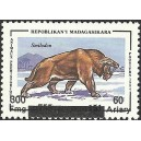 1998 - Mi 2105 - Local overprint 300 Fmg - Prehistoric animal: Smilodon - MNH