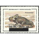 1998 - Mi 2111 - Local overprint 500 Fmg - Prehistoric animal: protoceratops - MNH