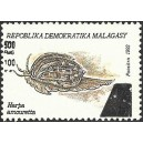 1998 - Mi 2116 - Local overprint 500 Fmg - Mollusc: harpa amouretta - MNH