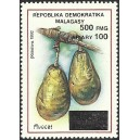 1998 - Mi 2120 - surcharge locale 500 Fmg - Fruit : avocat **