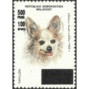 1998 - Mi 2123 - Local overprint 500 Fmg - Dog - MNH