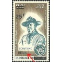 2009 - Mi 1519 III - surcharge locale 25 f - Scoutisme - Lord Baden Powell - type III ** - cote 300 €