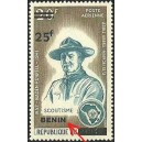 2009 - Mi 1519 I - surcharge locale 25 f - Scoutisme - Lord Baden Powell - type I ** - cote 130 €
