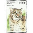 2000 - Mi 1282 - local overprint 150 f - Wild cats: lynx rufus - CV 100 € MNH