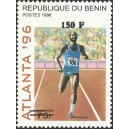 2000 - Mi 1258 - local overprint 150 f - Summer Olympics Atlanta 96: running - CV 100 € MNH