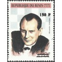 2000 - Mi 1308 - local overprint 150 f - Chess: A. Alekhine - CV 100 € MNH