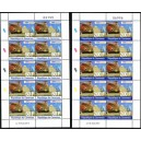 Cameroon 2014 - EMS Statue of Liberty pyramid Eiffel tower - 2 sheets - MNH