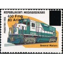 1998 - Mi 2108 - surcharge locale 400 Fmg - Locomotive : General Motors **