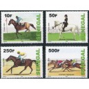 Senegal 2009 / 2012 - Horse Racing - 4 st. MNH