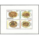 Senegal 2007 - Gastronomy: Senegalese dishes - sheetlet 1000 fcfa MNH