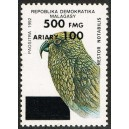 1998 - Mi 2130 - Local overprint 300 Fmg - Parrot Nestor - MNH