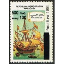 1998 - Mi 2119 - Local overprint 500 Fmg - Caravel ship - MNH