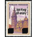 1998 - Mi 2101 type I - Local overprint 300 Fmg - Toledo cathedral - MNH