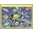 Comoros 1999 - Mi 1512 to 1520 - Fishes - UNPERFORATED - MNH